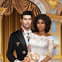 Liam's and MC's engagement photo