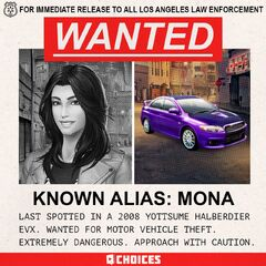 Mona Wanted Poster Sneak Peek