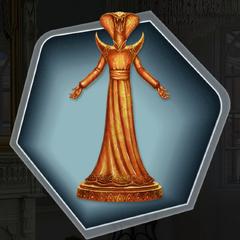 The Duke's Golden Statuette