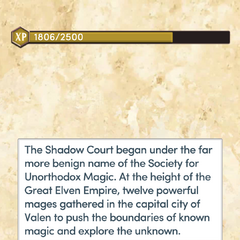 The Founding of the Shadow Court
