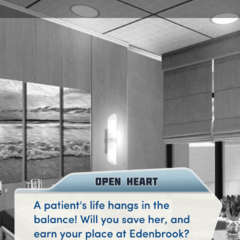 A Patient's Life Hangs in the balance Tutorial message