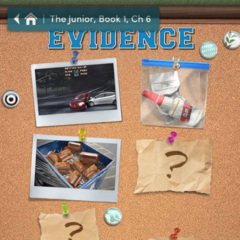 Evidence Board as of Ch. 6