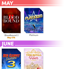 Updated Releases Schedule including Platinum