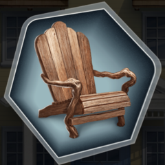 New House Porch Chair in Ch. 17