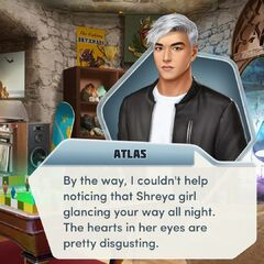 Atlas talking about Shreya in Ch. 14