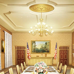 Dining Room inside the White House in PM 2, Ch. 15