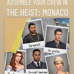 TH:Monaco Announcement for Sneak Peeks on IG