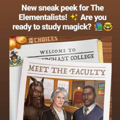 Meet the Faculty of Penderghast College Sneak Peek on Insta