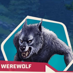 As the werewolf