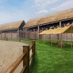 London Race Track c. 1816