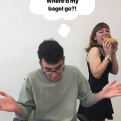 WT Writers in Where'd My Bagel Go!? 04/17/19