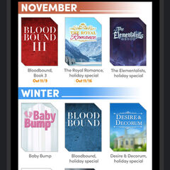 Choices Insiders (November Edition) - Release Schedule