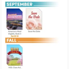 Choices Insider (September Edition) - Release Schedule