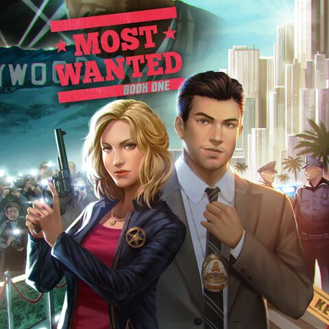 Sam on the Cover of Most Wanted, Book 1
