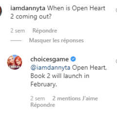February 2020 Release Date Confirmation on IG