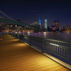 City Water Overlook at Night, seen in Ch. 9