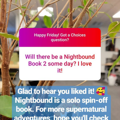 August Q&A confirming this is a standalone