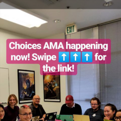 Part II of PB's Reddit Choices AMA 03-06-2019