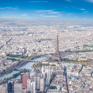 Aerial View of Paris, France in Ch. 1