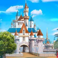 Enchantland Castle as seen in Ch. 10