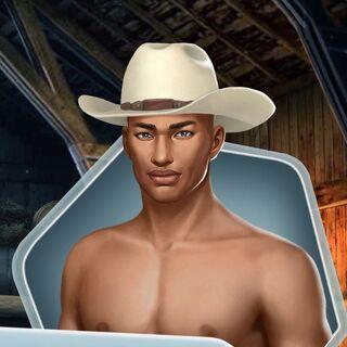Shirtless w/ Hat (Face 2)