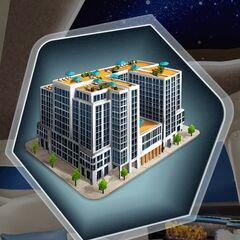 Penthouse building