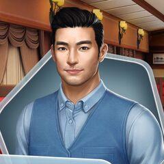 Blue Suit (Face 1)