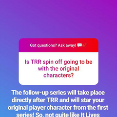 Dec. 3, 2018 Update on the TRR Follow-Up Series