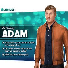 <i>Adam the Bad Boy</i> Bio Sneak Peek