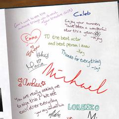 Yearbook signatures