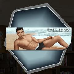 Thomas Hunt as an underwear model