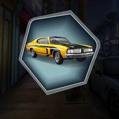 Spark Plug Yellow Version of MC's 1969 Panther XX Car