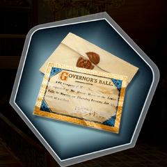 Governor's Ball invitation