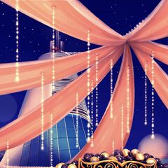 Dark Masquerade Prom Decorations Preview as seen in Ch. 5