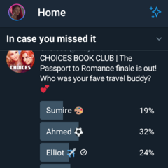 Fave Travel Buddy Survey on Twitter 6/20/19