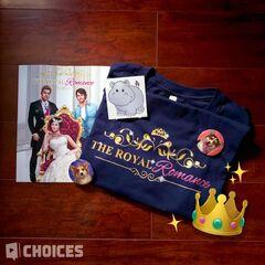 The Royal Romance merch sneak peek 07-10-20