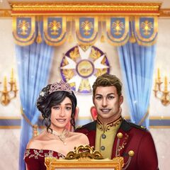 Face 3 MC and Face 3 Liam in Heir Announcement Photo