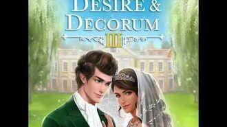Choices - Desire & Decorum, Book 3 Teaser 1