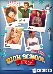 High School Story, Book 2 promo