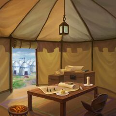 Kenna's command tent (Day)