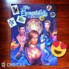 The Elementalists merch sneak peek 07-01-20