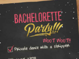 Bachelorette Party Checklist