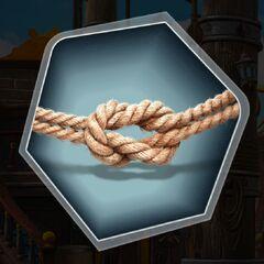 Boatswain reef knot