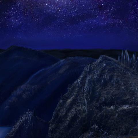 Howard's Peak (night)