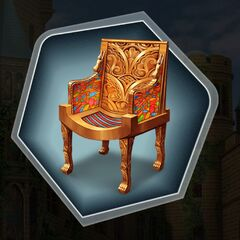 Fairytale Photoshoot Throne