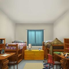 Your Character and Rachel's Room