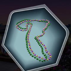 Mardi Gras Beads in Ch. 1