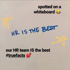PB's HR Team is the Best