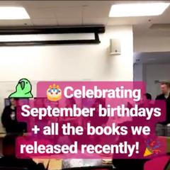 PB Celebrates recent releases