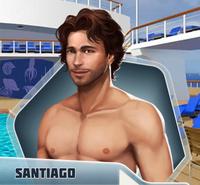 Santiago shirtless